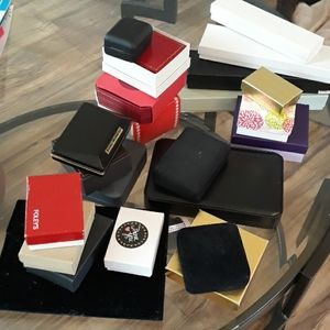 Jewelry - 20 jewelry boxes cases